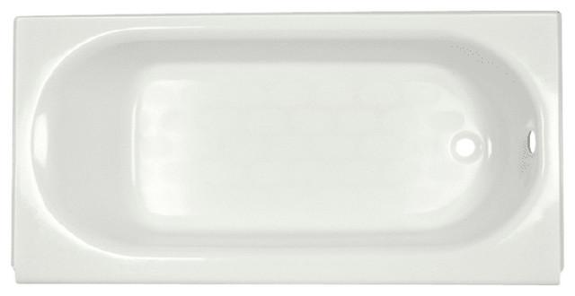 American Standard 2391.202ich Princeton 60 Americast Soaking Bathtub, White.