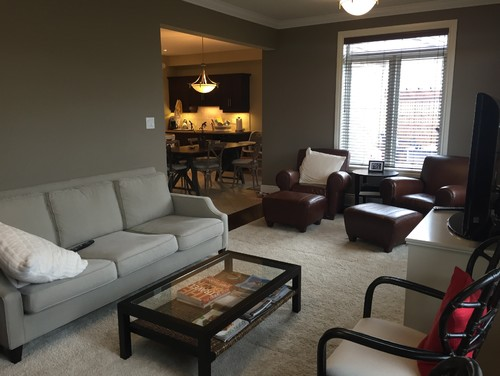 awkward living room layout