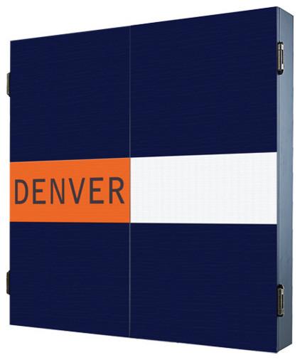 Denver Dartboard Cabinet - Contemporary - Darts And Dartboards - by ...