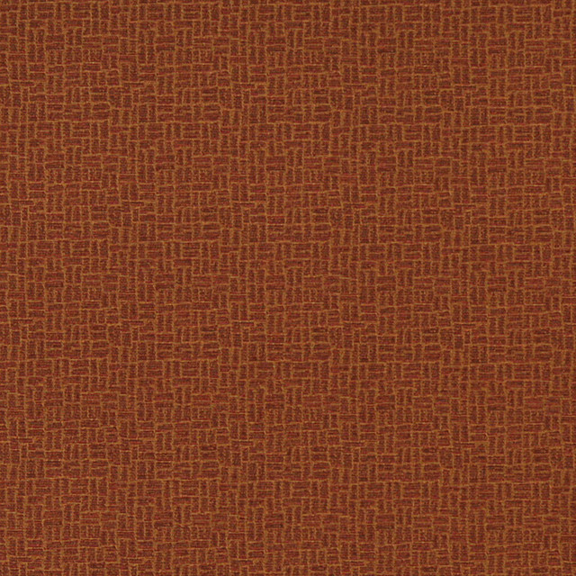 Rust Red Cobblestone Contract Grade Upholstery Fabric By The Yard