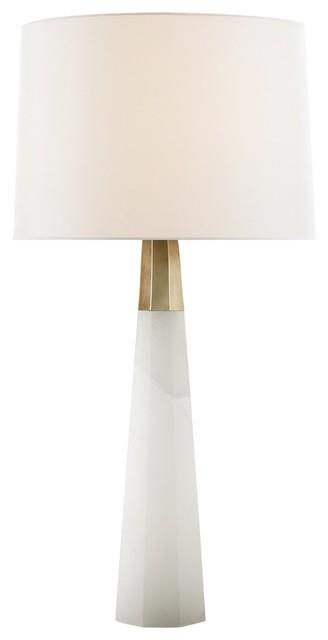 Visual Comfort Lighting Olsen Table Lamp Alabaster