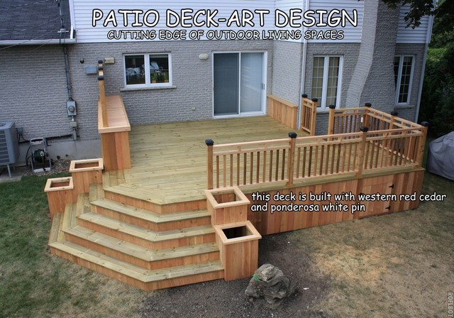 patio deck art designs trex