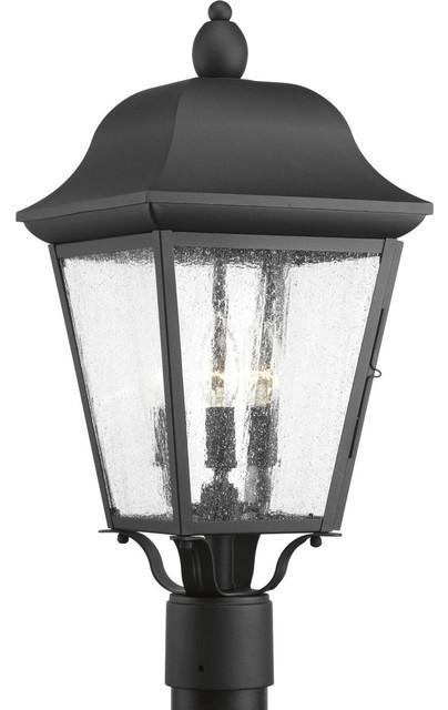Kiawah 3-Light Post Lantern