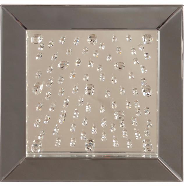 Howard Elliott Bliss Crystal Mirror 99008 contemporary wall mirrors. Howard Elliott Bliss Crystal Mirror 99008   Contemporary   Wall