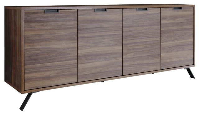 Palma Wooden Sideboard, Walnut