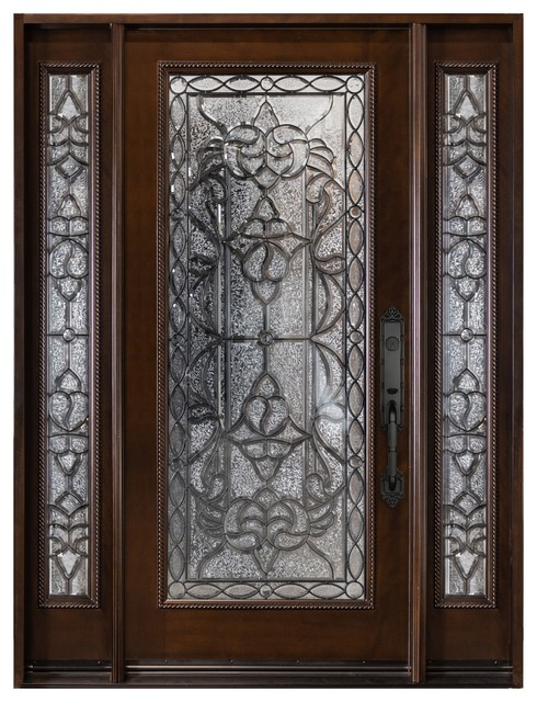 Entry Door With 2 Side Lights M577
