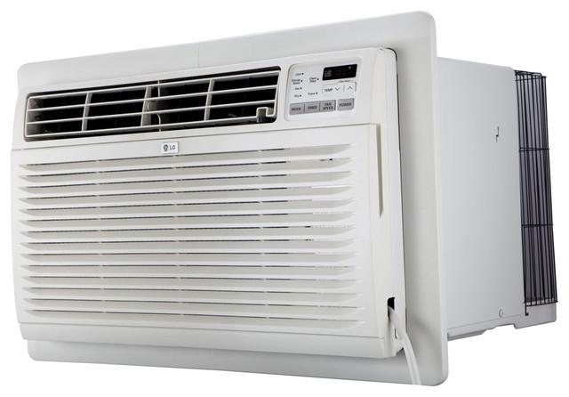 11,200 Btu Thru-The-Wall Air Conditioner With Heat, 230v.