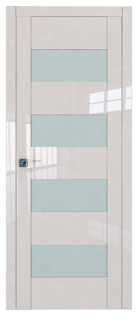 Milano-46l Magnolia Lux Interior Door, 30x80, Door Slab Only.