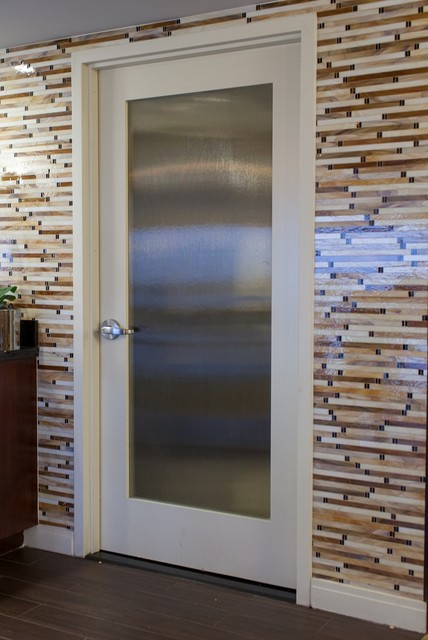 L100 with rain glass by Supa Doors contemporary & L100 with rain glass by Supa Doors - Contemporary - Chicago - by ...
