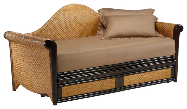 Night And Day Rosebud Daybed In Dark Chocolate - No Thank You.