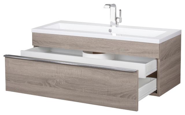 42 Wall Mount Modern Bathroom Vanity