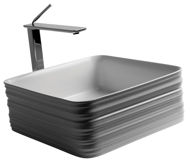 Trace 38.38 Vessel Bathroom Sink 15.0 X 15.0.