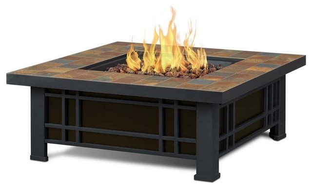 Real Flame 906LP Morrison Propane Fire Table Craftsman Fire Pits