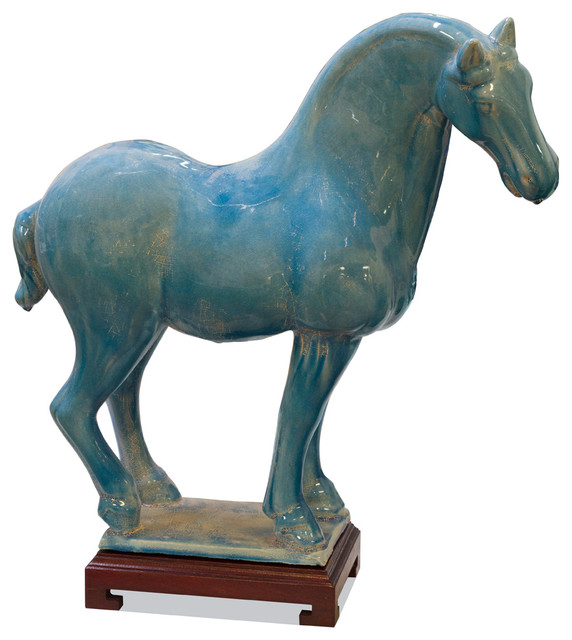 Tang Dynasty Chinese Ceramic Horse