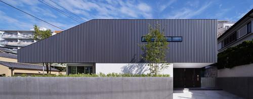 Berühmt Architektur: Ein japanisches Haus mit blickgeschützter Dachterrasse CK79