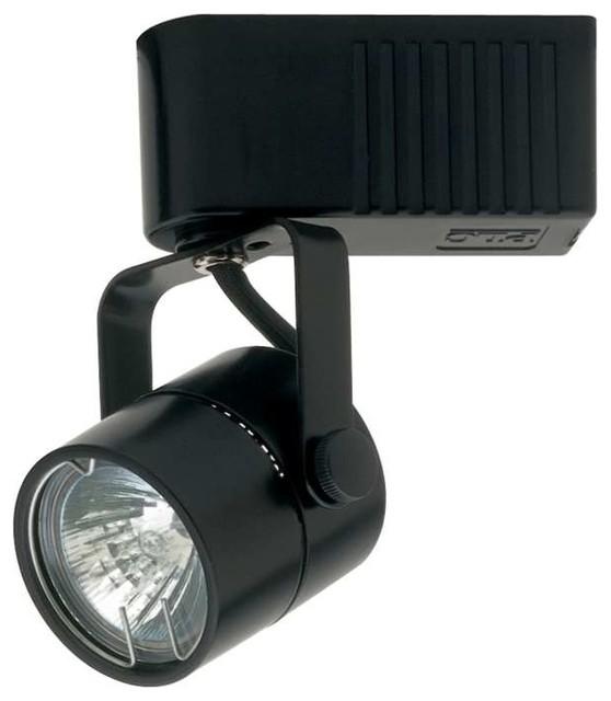 Plc Lighting Slick 12v Track 1 Light In Black