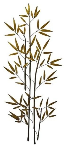 60u0027u0027 Bamboo Branch Gold Metal Wall Art Tall Asian Decor  sc 1 st  Houzz & 60u0027u0027 Bamboo Branch Gold Metal Wall Art Tall Asian Decor - Asian ...