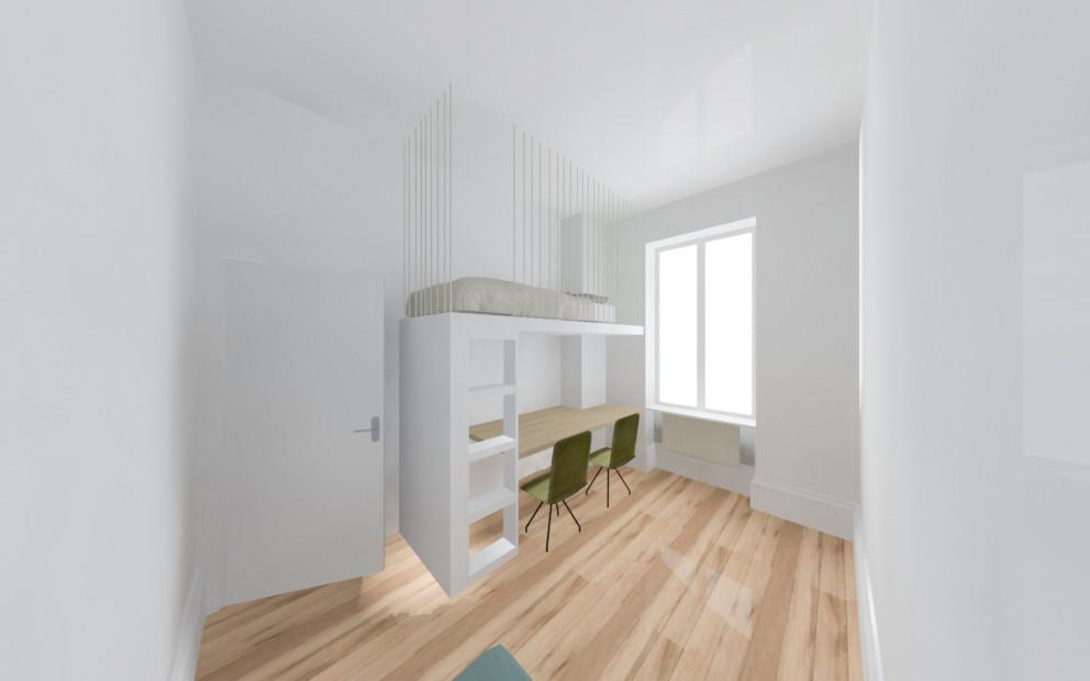 Option 1 - Appartement C