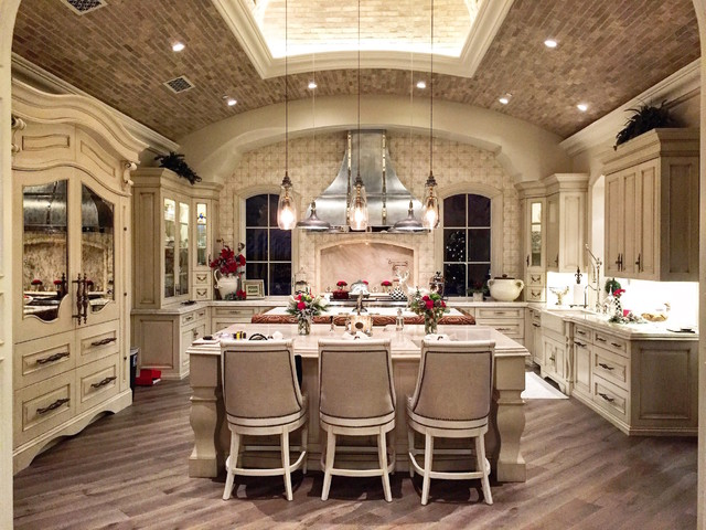 French Villa Transitional Kitchen Phoenix By Fratantoni Interior Designers