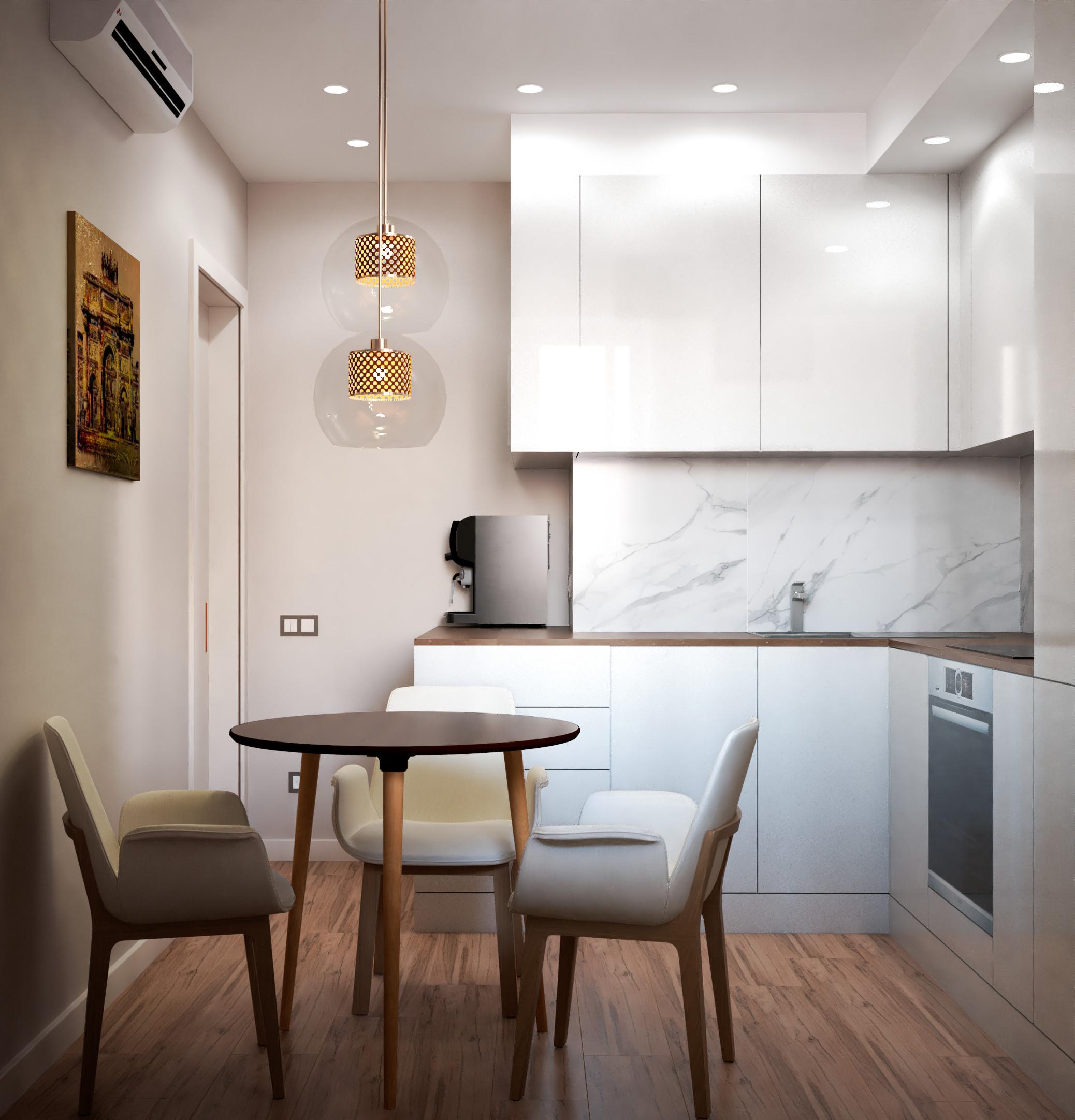 Квартира в современном стиле для молодой парыинте