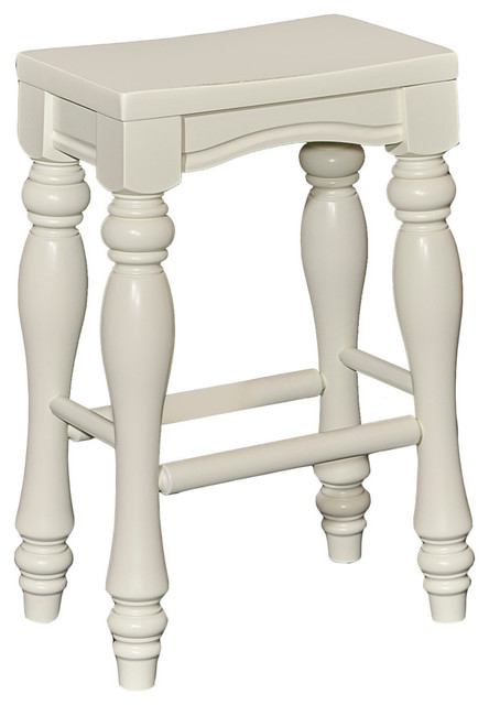 Pennfield White Counter Stool.
