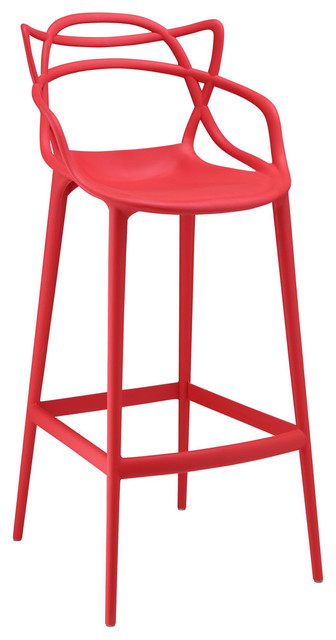 Modway Entangled Bar Stool Contemporary Bar Stools And