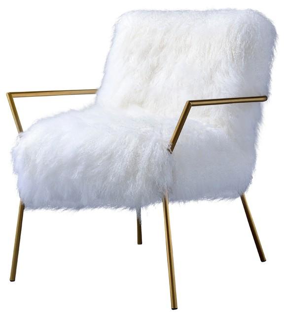 Incredible Sherpa Fur Accent Chair Machost Co Dining Chair Design Ideas Machostcouk