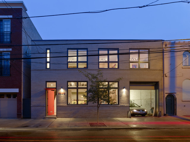 Warehouse Conversion Contemporary Philadelphia By Rasmussen Su Architects