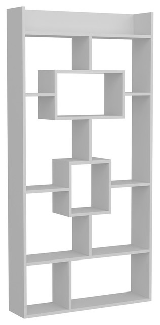 """Kayra Accent 71"""" Bookcase"""