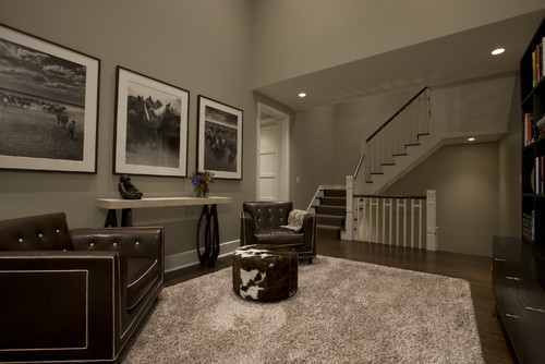 Honore-Transitional Study contemporary home office