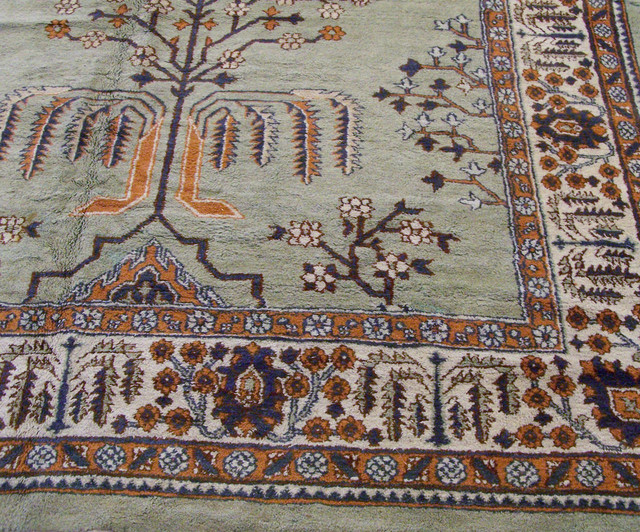 Antique Indian Agra Palace Rug
