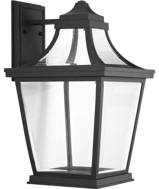 Progress P6058-3130k9, Endorse Outdoor Wall Light, Black.