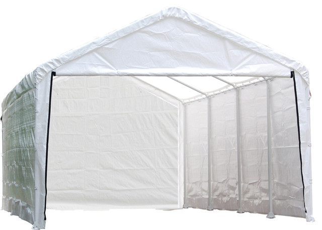 12&x27;x26&x27; Canopy Enclosure Kit Fits 2 In, Frame, Cover And Frame Sold Separately.