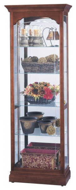 """... 13.5""""D - Traditional - China Cabinets And Hutches - by Harvey & Haley"""