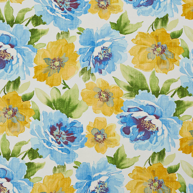 Large Flower Print Upholstery Fabric Flowers Healthy