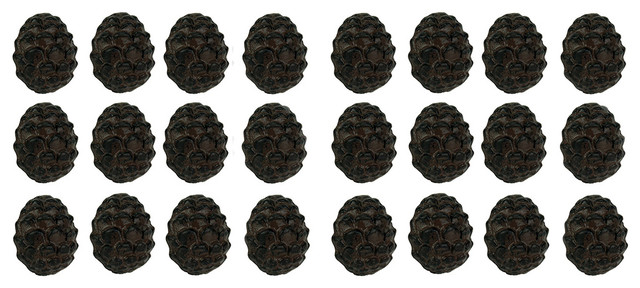 Rustic Brown Woodland Pine Cone 24