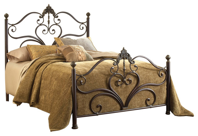 Newton Bed Set, Rails Not Included.