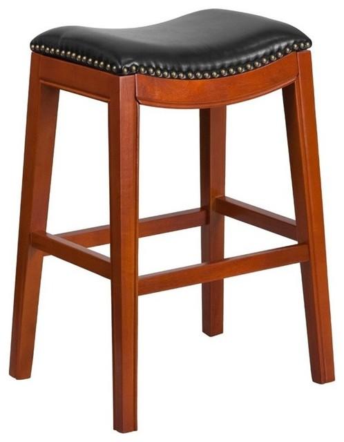 Flash Furniture Backless Counter Stool Black