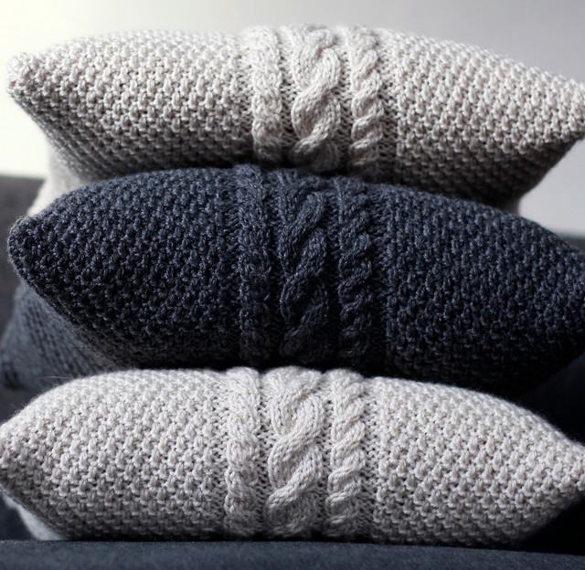 Knitted Pillow Covers Magnificent How To Knit Pillow Covers