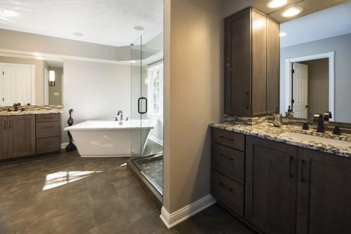 Master bath update for Bathroom remodel for 4000