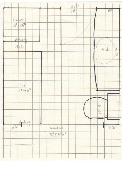 Small bathroom remodel suggestions needed for Bathroom design 8x8