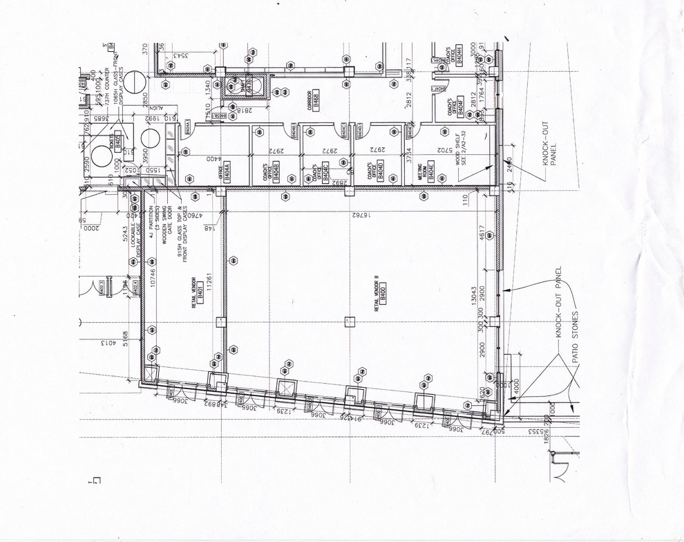 commercial space plan- pharmacy before