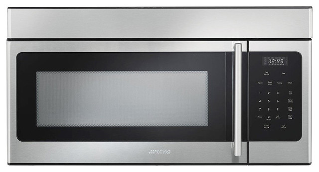 Smeg Over-The-Range Stainless Steel Microwave, 30.