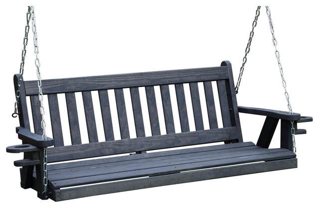 Amish Heavy Duty 800 Lb Mission 5ft. Porch