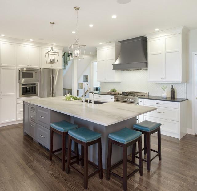 Lenexa Transitional Kitchen Remodel - Transitional - Kansas ...