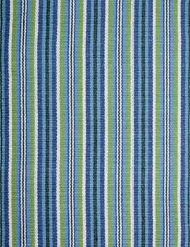 Alford Rug, Blue/Green/White, Swatch Contemporary Area Rugs