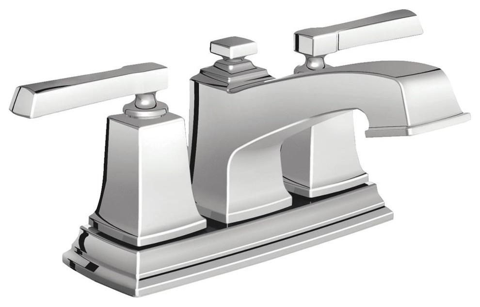 Moen Inc 2 Handle Chrome Lavatory Faucet Ws84800