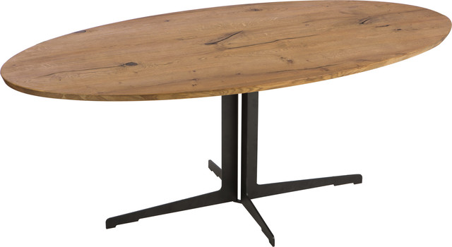 silva dining table brown