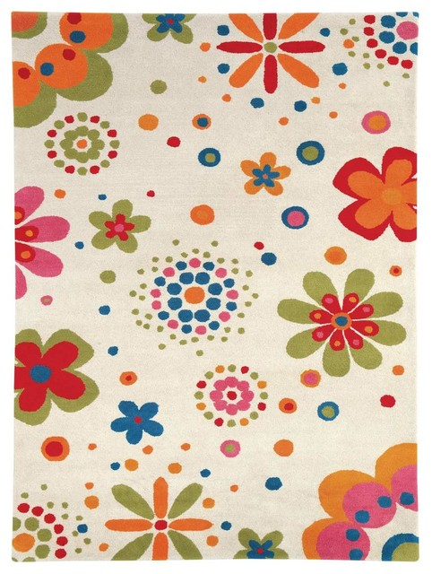 Fantasia 1705 100 Beige Childrens Rug Contemporary Kids Rugs By Super Area