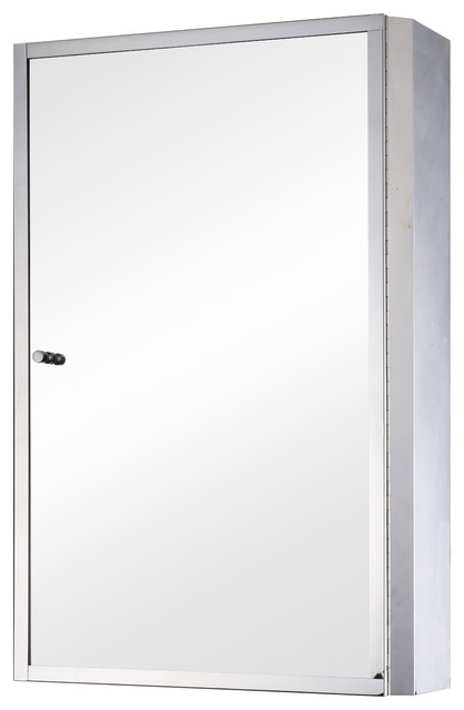 24x16 Stainless Steel Bathroom Mirror/medicine Cabinet.
